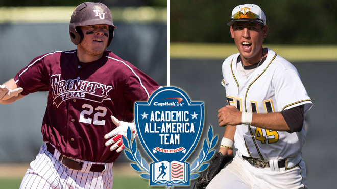 Trinity's Hirschberg; TLU's Kanas Named First Team Academic All-Americans