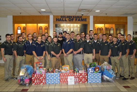 SJC Baseball Collects and Donates 110 Toys to Needy