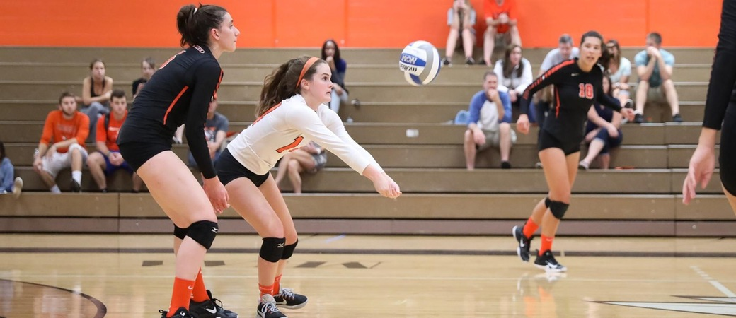 Kalamazoo College volleyball players.
