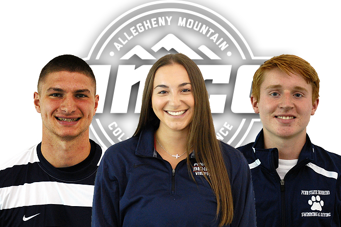 Three Behrend Lions Named AMCC Athlete of the Week
