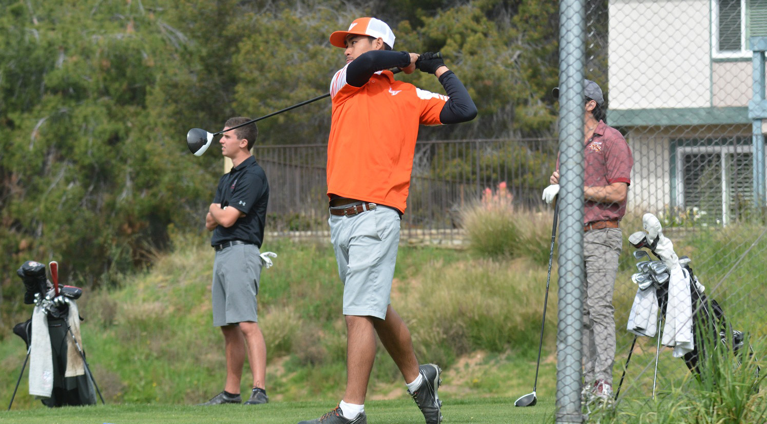 No. 11 Men's Golf in 2nd after Day 1 of SCIACs