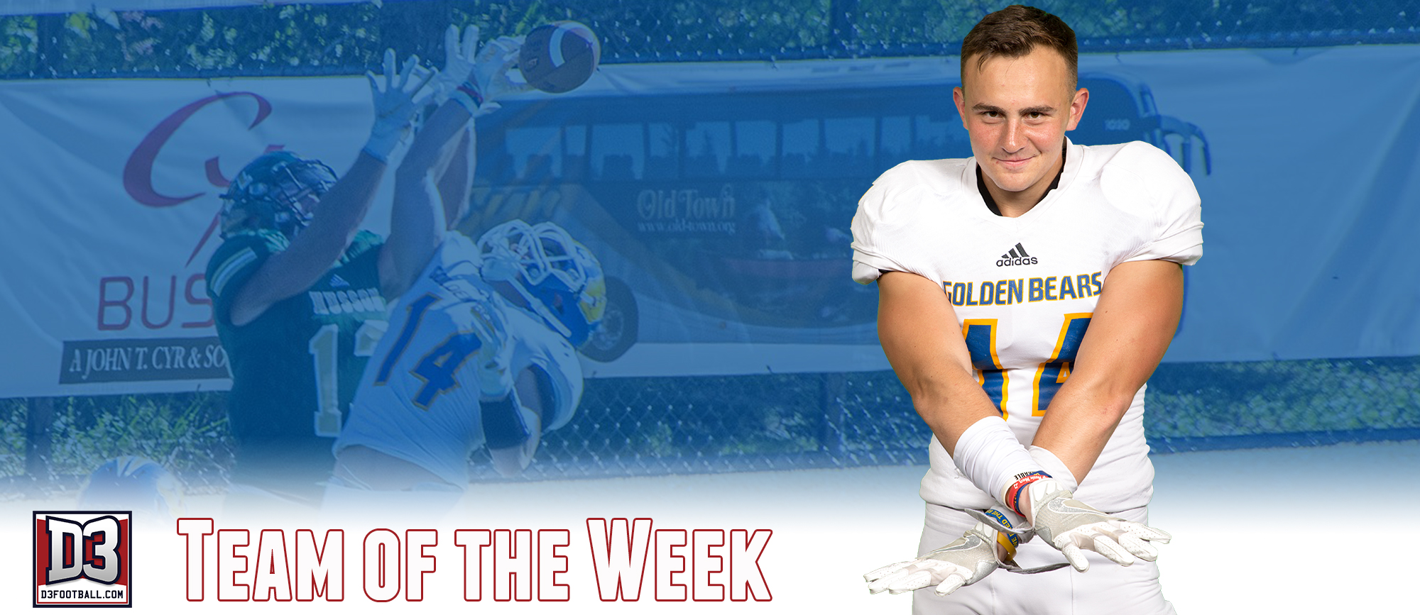 Tommy Ganley Named to D3football.com Team of the Week