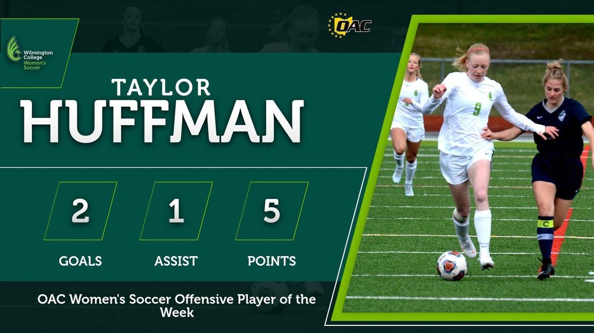 Huffman Named OAC Offensive Player of the Week