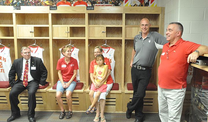 Supporters Aid Men's Basketball Locker Room Renovation Project