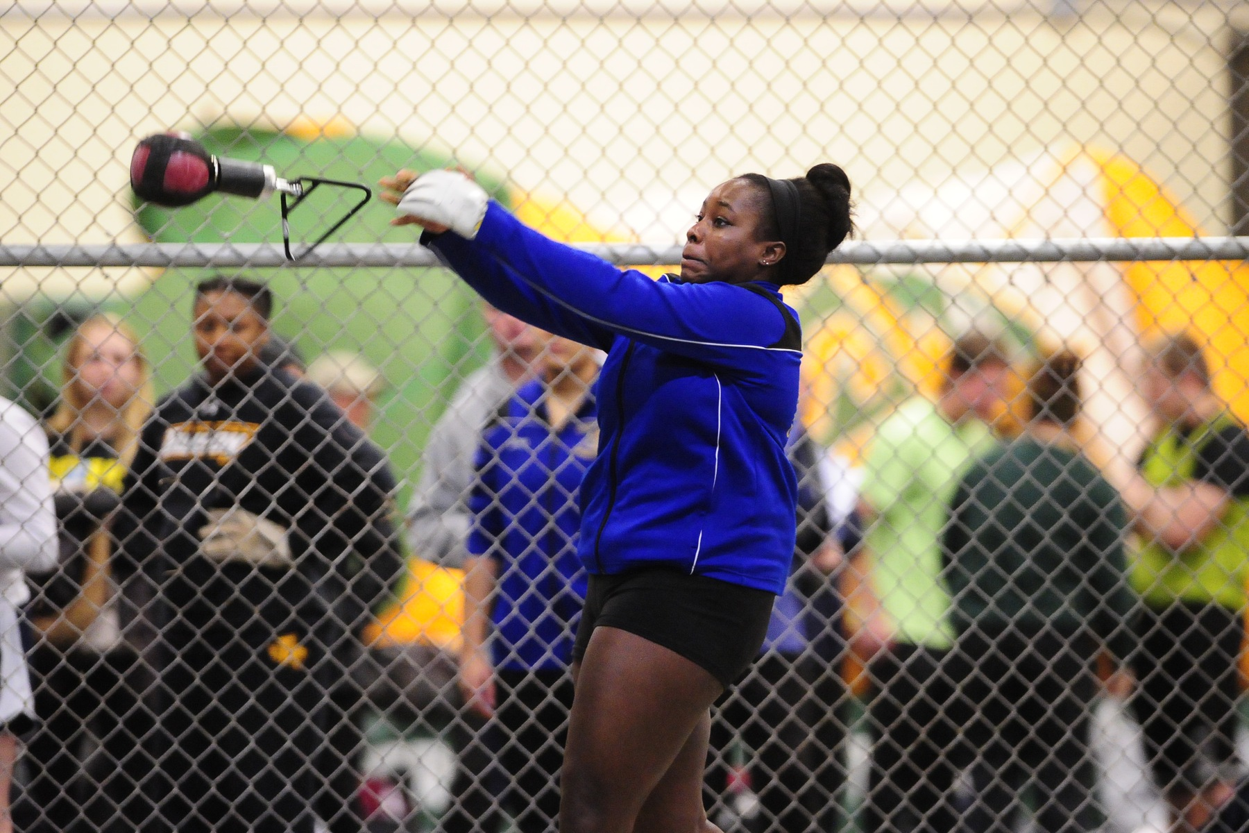 Gunter Takes Weight Throw to Lead Women's Track & Field at Albright Invite