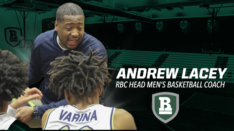 Andrew Lacey Named Head Men's Basketball Coach