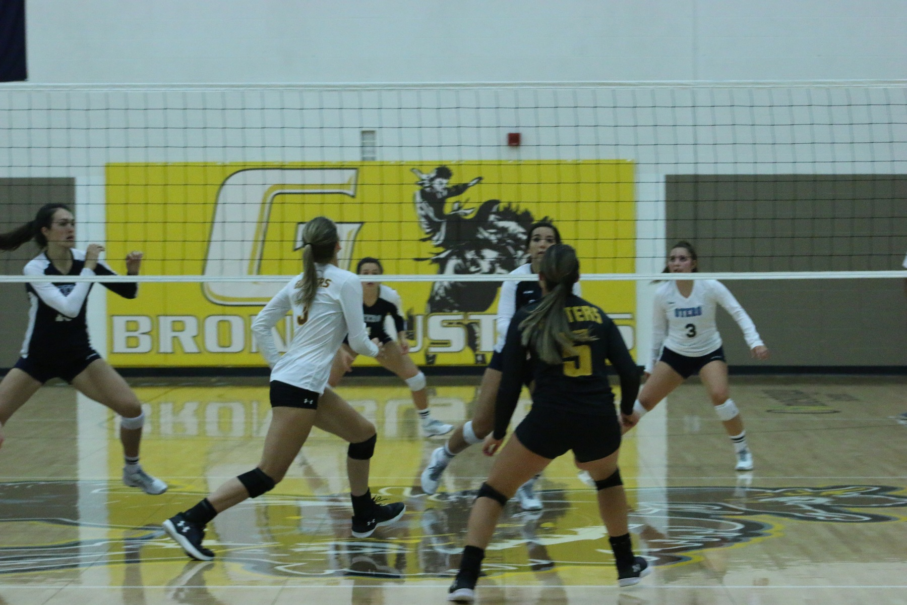 Broncbusters show promise in four-set loss to South Mountain