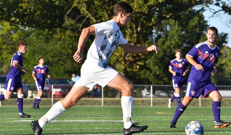 Evangel Men's Soccer Falls at Park