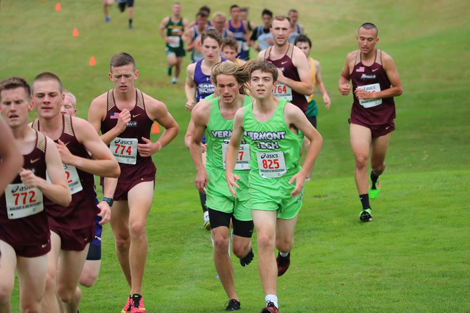 Men's Cross Country sets 2 PRs at Vermont College Championship Meet
