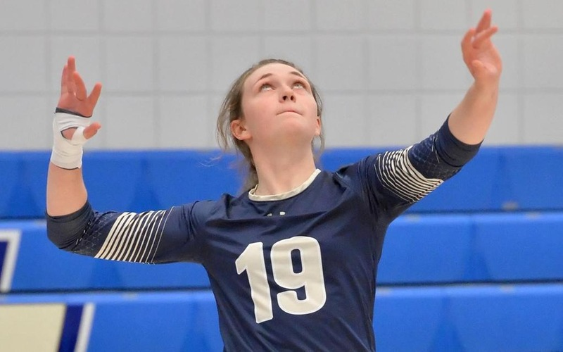 Volleyball Falls To SUNY-Maritime, Maine Maritime At Eighth Annual Maritime Classic