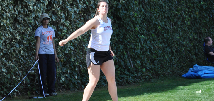 Five Athletes Compete at Occidental Invitational; Another Record for Logan
