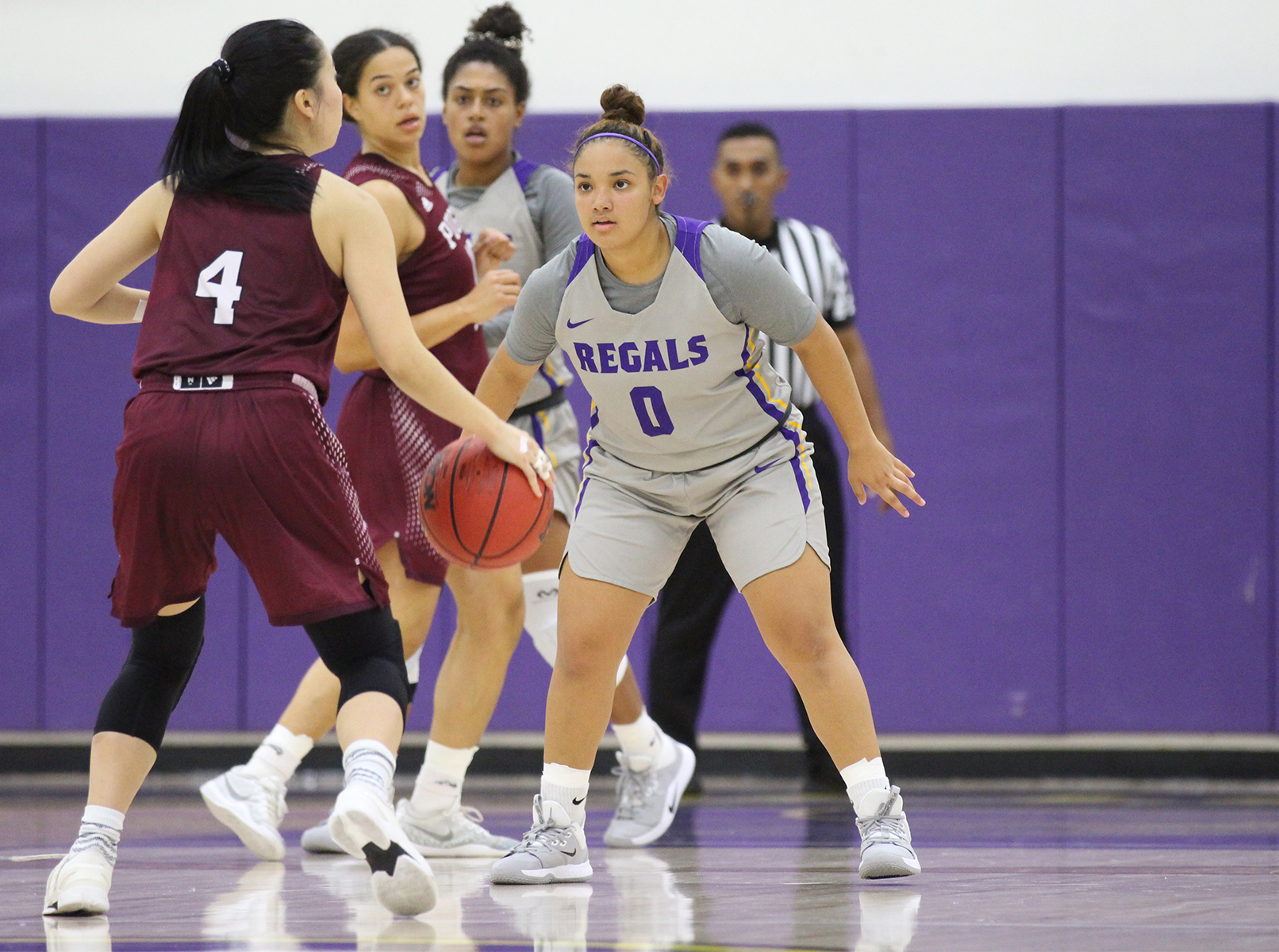 Regals Fall to No. 8 George Fox