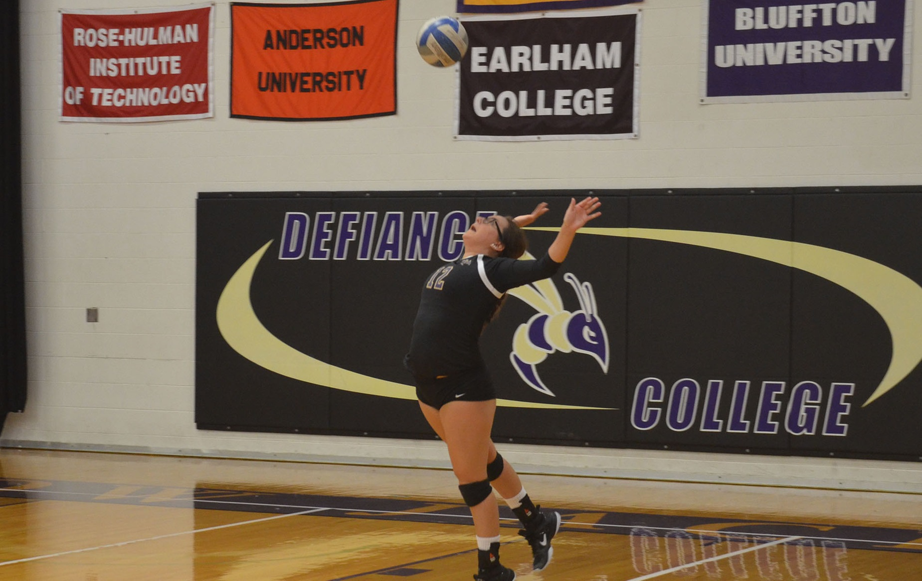 DC Volleyball Falls to Heidelberg