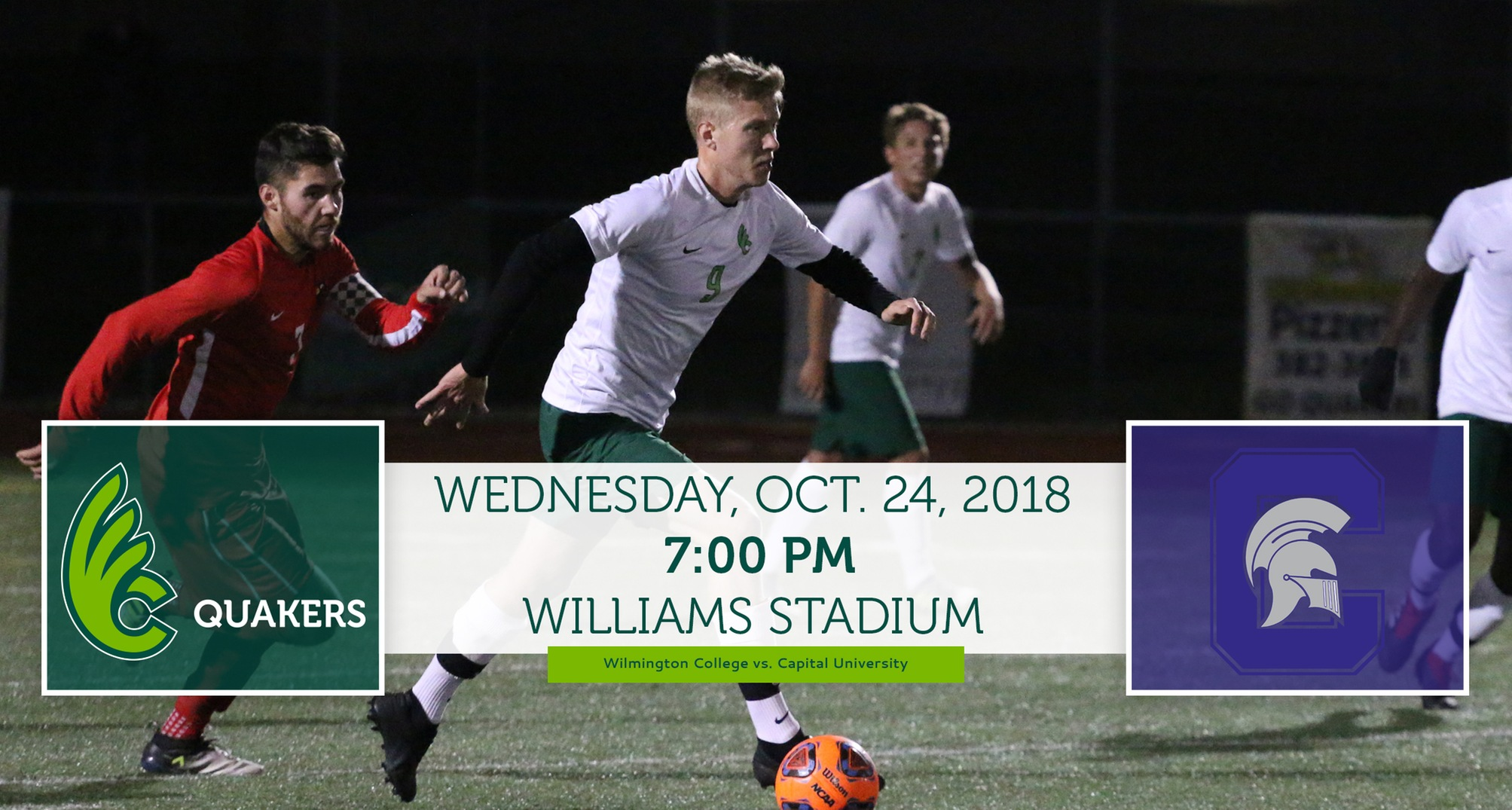 Men's Soccer Hosts Capital for Senior Day on Wednesday