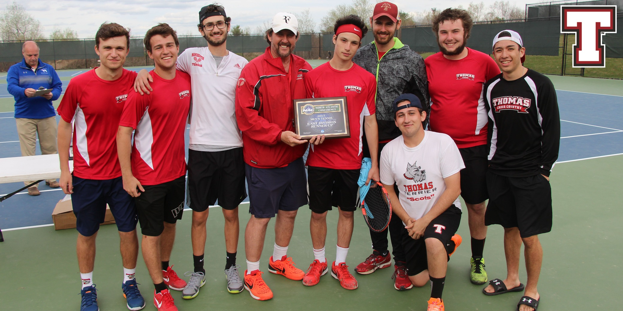 Men's Tennis Defeats Castleton in Semis; Falls to Colby-Sawyer in Championship