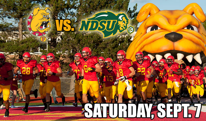 GAME PREVIEW: Bulldogs Visit Two-Time FCS National Champion North Dakota State Today