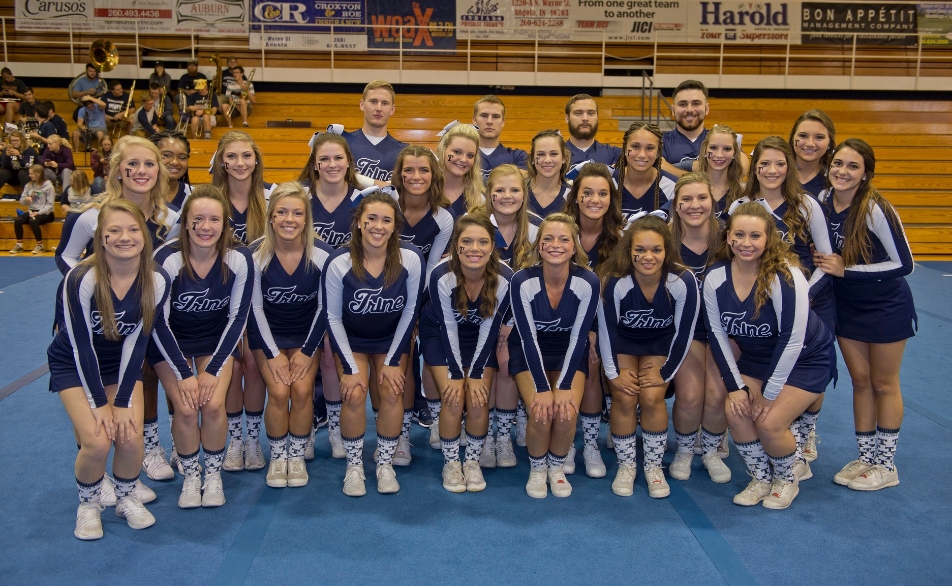 Trine Cheer, Dance Teams to Host Upcoming Camps