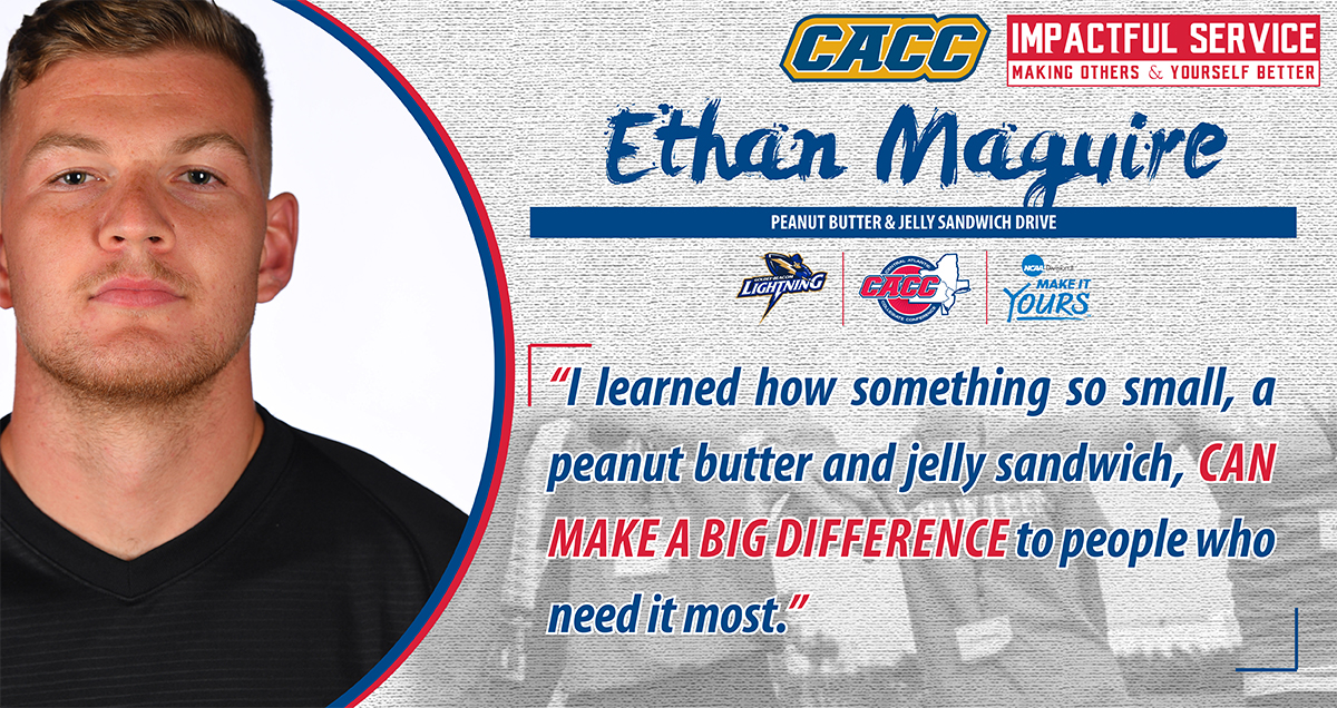 IMPACTFUL SERVICE ... MAKING OTHERS & YOURSELF BETTER: Goldey-Beacom College's Ethan Maguire