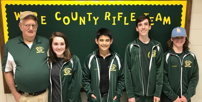 Ware Rifle Team Fires An 1174 to Blast Past Southeast Bulloch