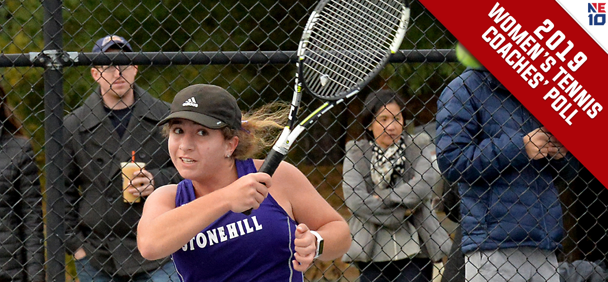 Stonehill Voted to Repeat in NE10 Women's Tennis Coaches' Poll