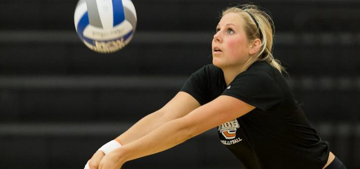 Strohm Racks Up 22 Kills in Road Win