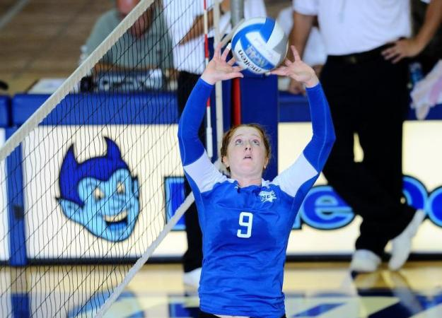 Volleyball Stopped by Bryant, 3-1
