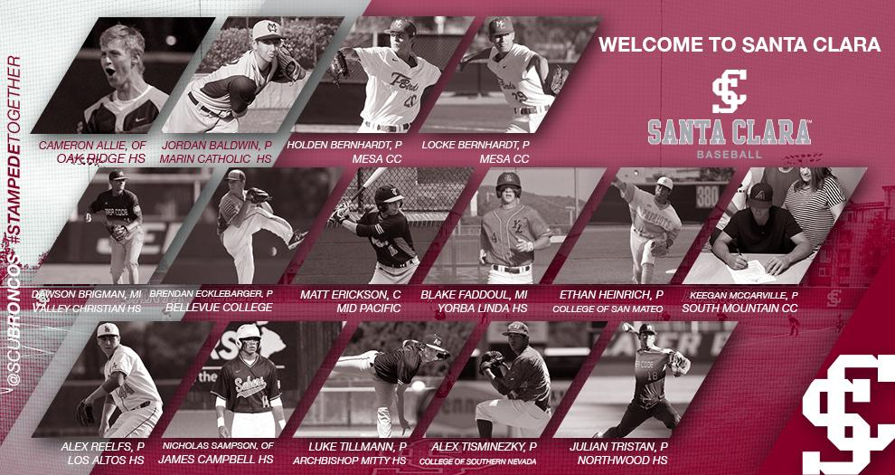 Baseball Signs 15 Players In 2018 Recruiting Class