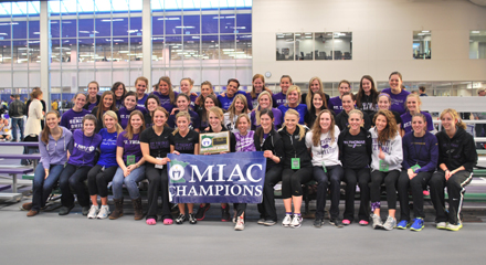 St. Thomas women win 12th-straight indoor track title