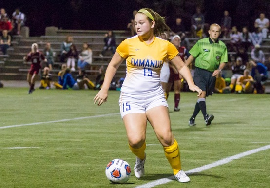 WOMEN'S SOCCER RECORDS FIRST WIN OF CAMPAIGN OVER WENTWORTH, 3-2