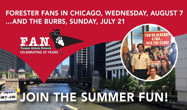 Forester FANS in Chicago and the Burbs!