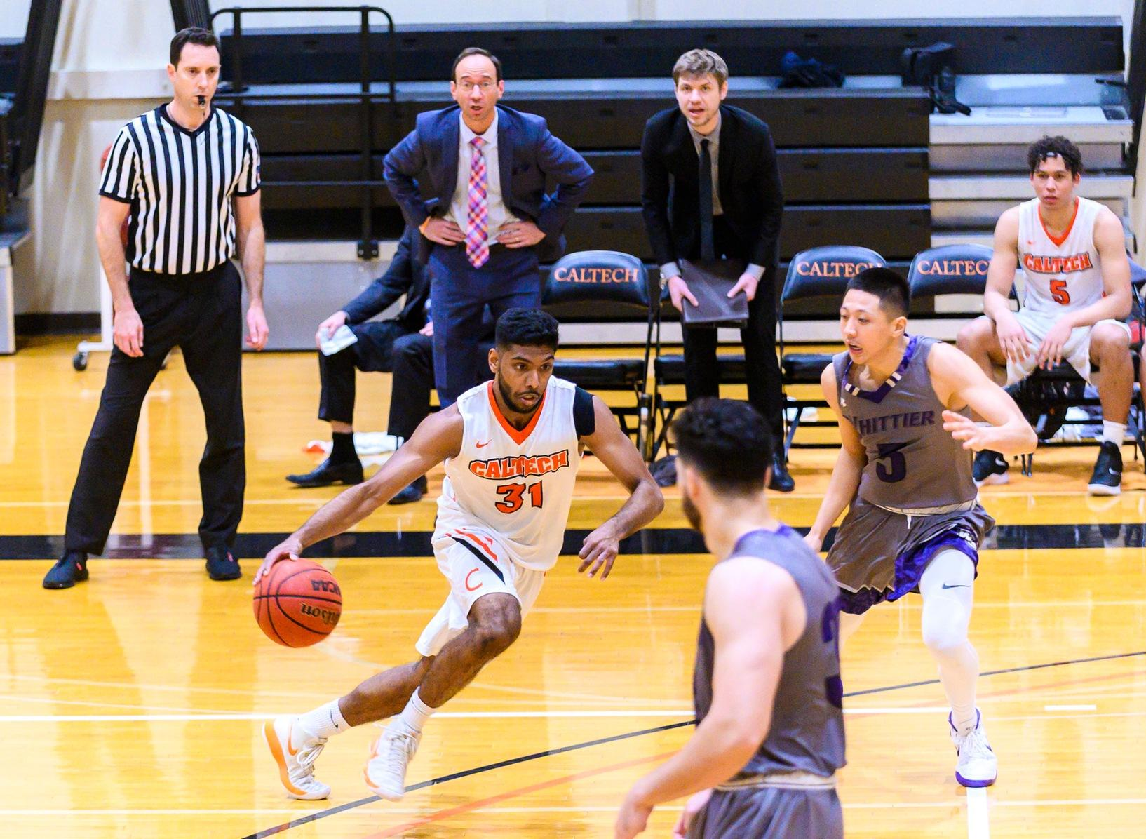 Men's Basketball Falls Short in Defensive Struggle with Chapman