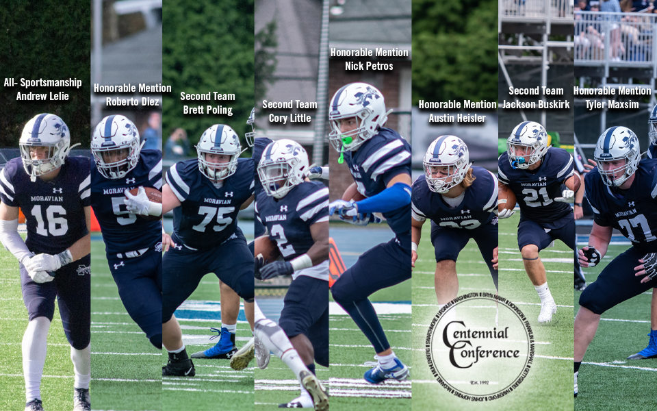 Seven Greyhounds named to Centennial All-Conference Teams & Andrew Lelie Named to All-Sportsmanship squad.