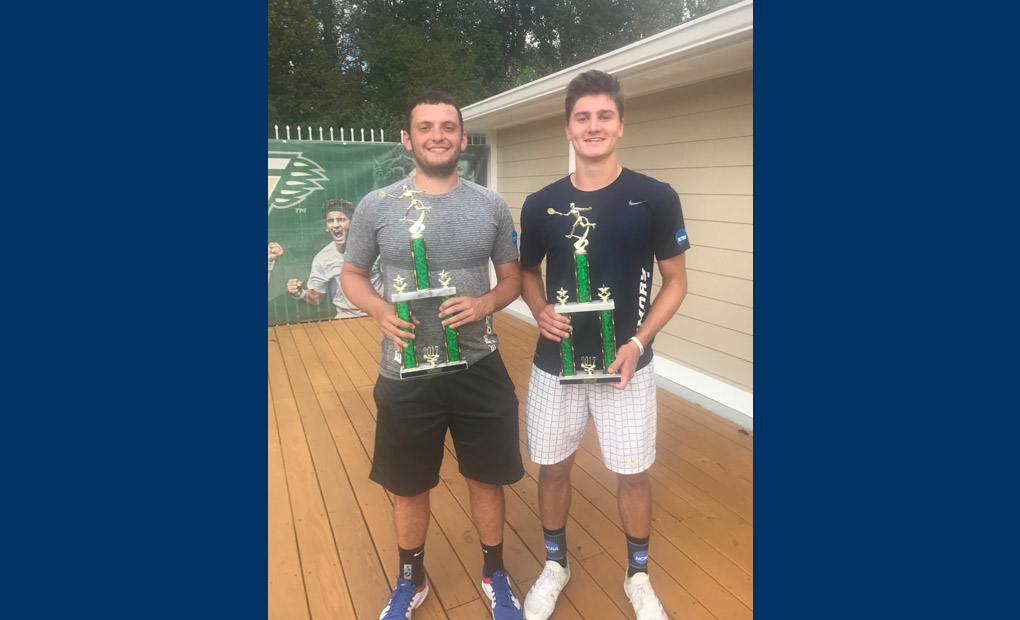 Emory's Rubinstein & Spaulding Win Doubles Title At Grizzly Open