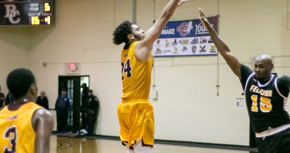 Bloomfield Tops Century Mark Sunday to Reach NCAA Men's Basketball East Region Final