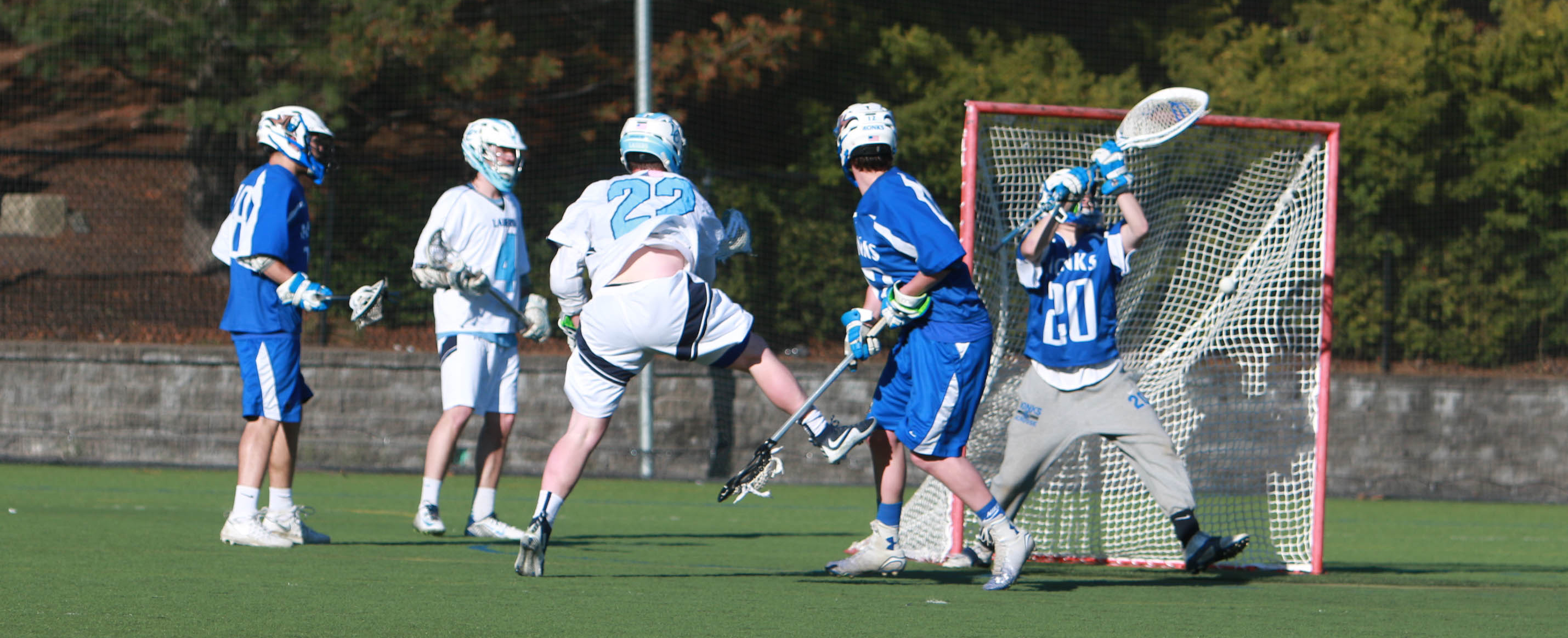 Gallant Propels Men's Lacrosse Past Monks 11-8