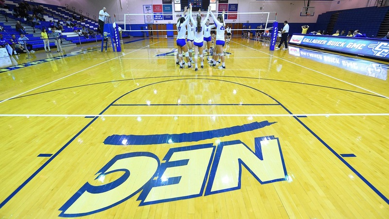 Volleyball Opens Play at NEC Championship Against Bryant Friday