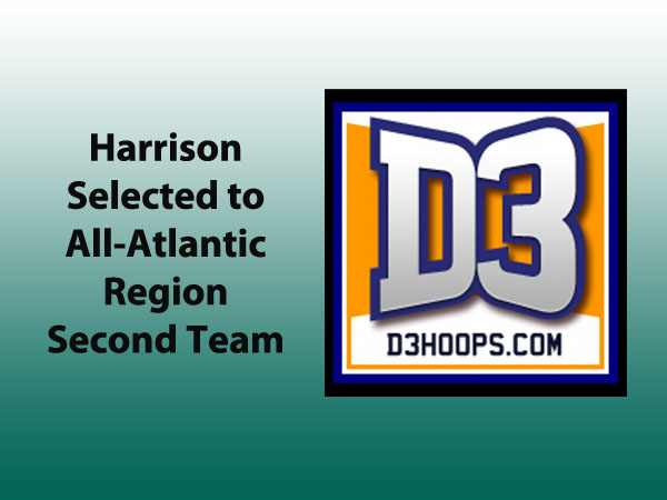 Harrison Named Second Team All-Region