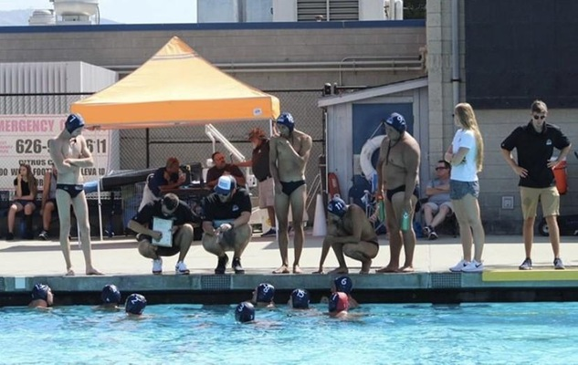Cypress College Men's Water Polo Puts on a Show in Return to Action