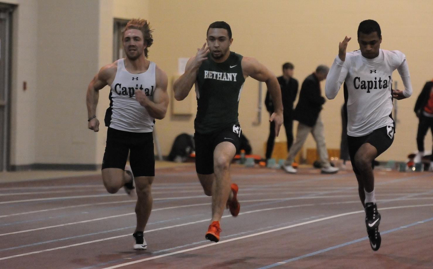 Bethany track teams compete at Denison Lid-Lifter