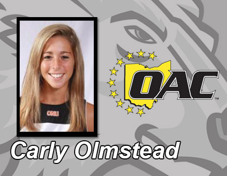 Carly Olmstead named OAC Womens Tennis Player of the Week