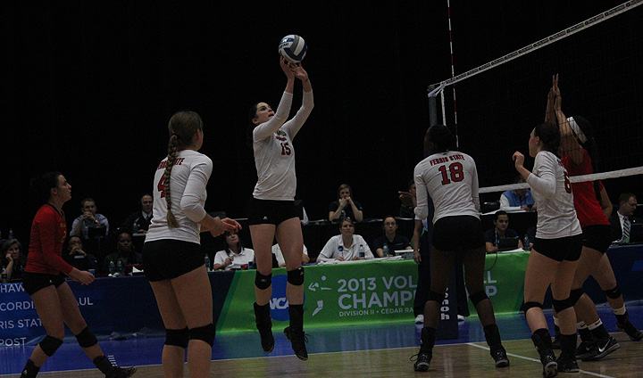 Ferris State Volleyball Takes Highly-Regarded BYU-Hawaii To The Wire In National Quarterfinal
