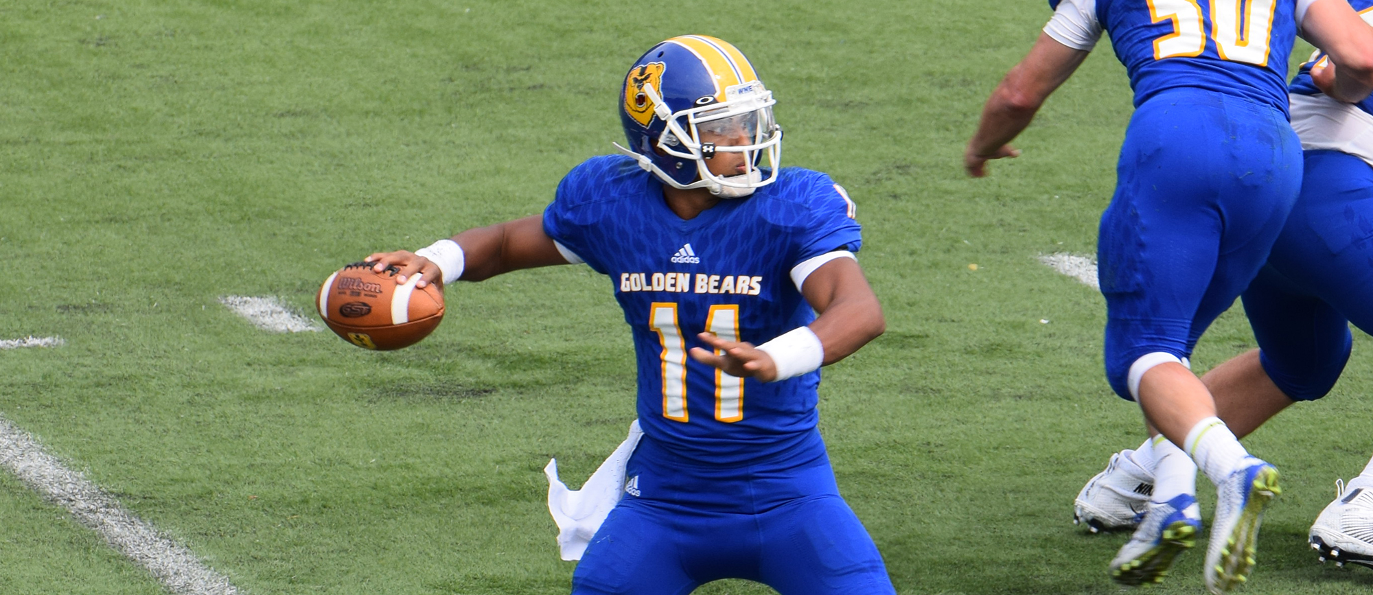 Western New England Rolls to 45-0 Shutout Victory at Becker