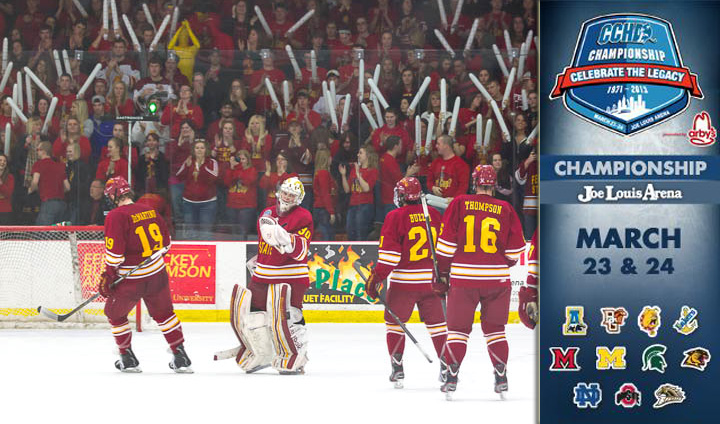 CCHA Announces 30-Day Countdown To Championship Weekend