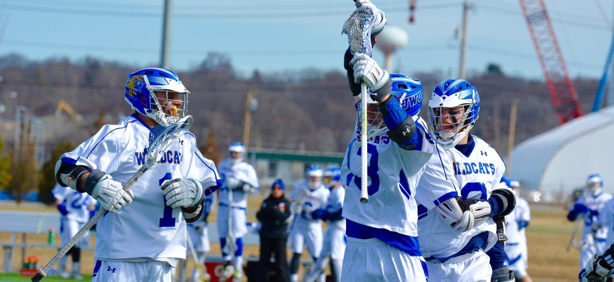 Men's Lacrosse Starts GNAC Play With 13-7 Win Over Rivier