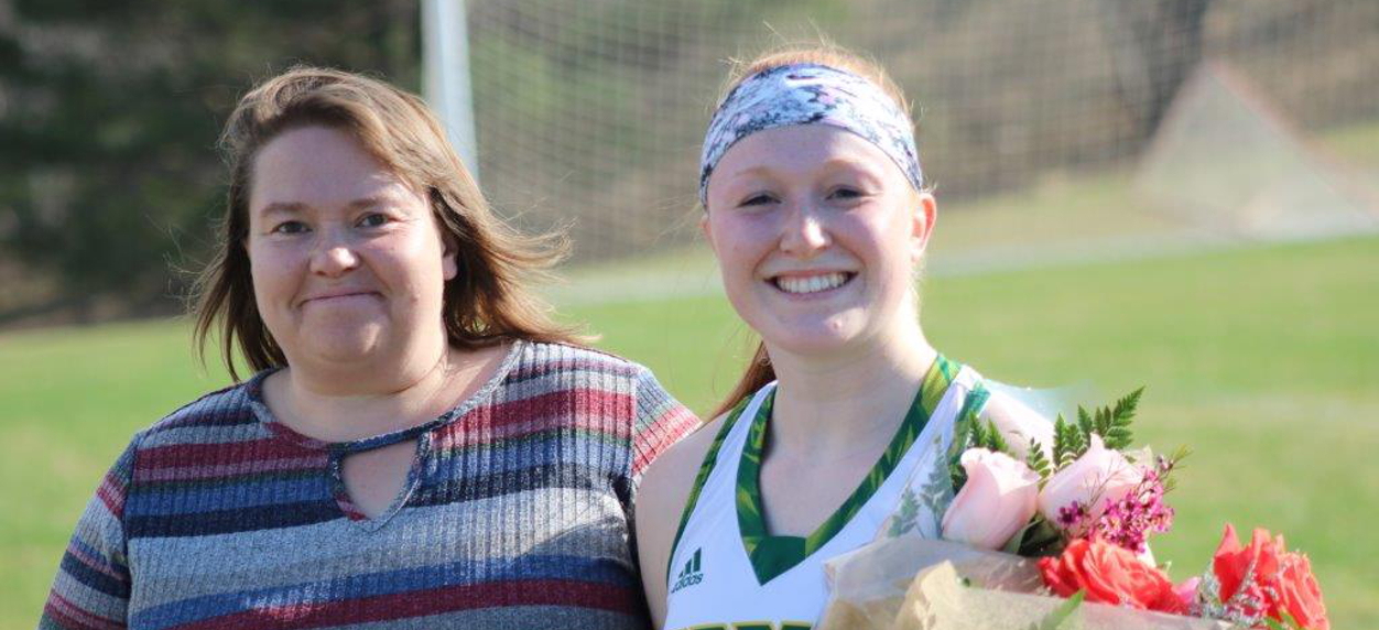Hornet women's lacrosse falls to Norwich on Senior Day