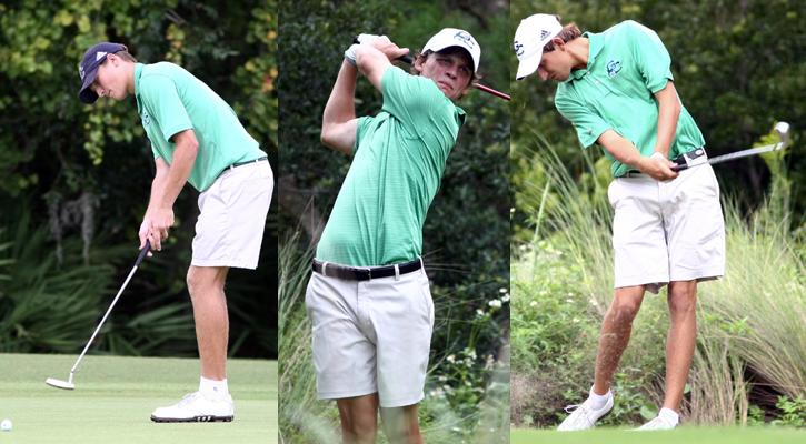 Three Bobcats Named to All-PBC Men's Golf Teams