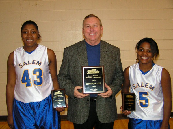 Michaux and Springs Named to All-Tournament Team - Salem College