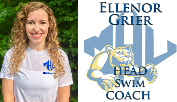 Ellenor Grier named new head swim coach