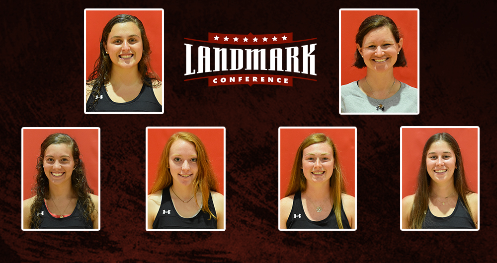Lewis, Tsiaras Headline All-Landmark Conference Selections