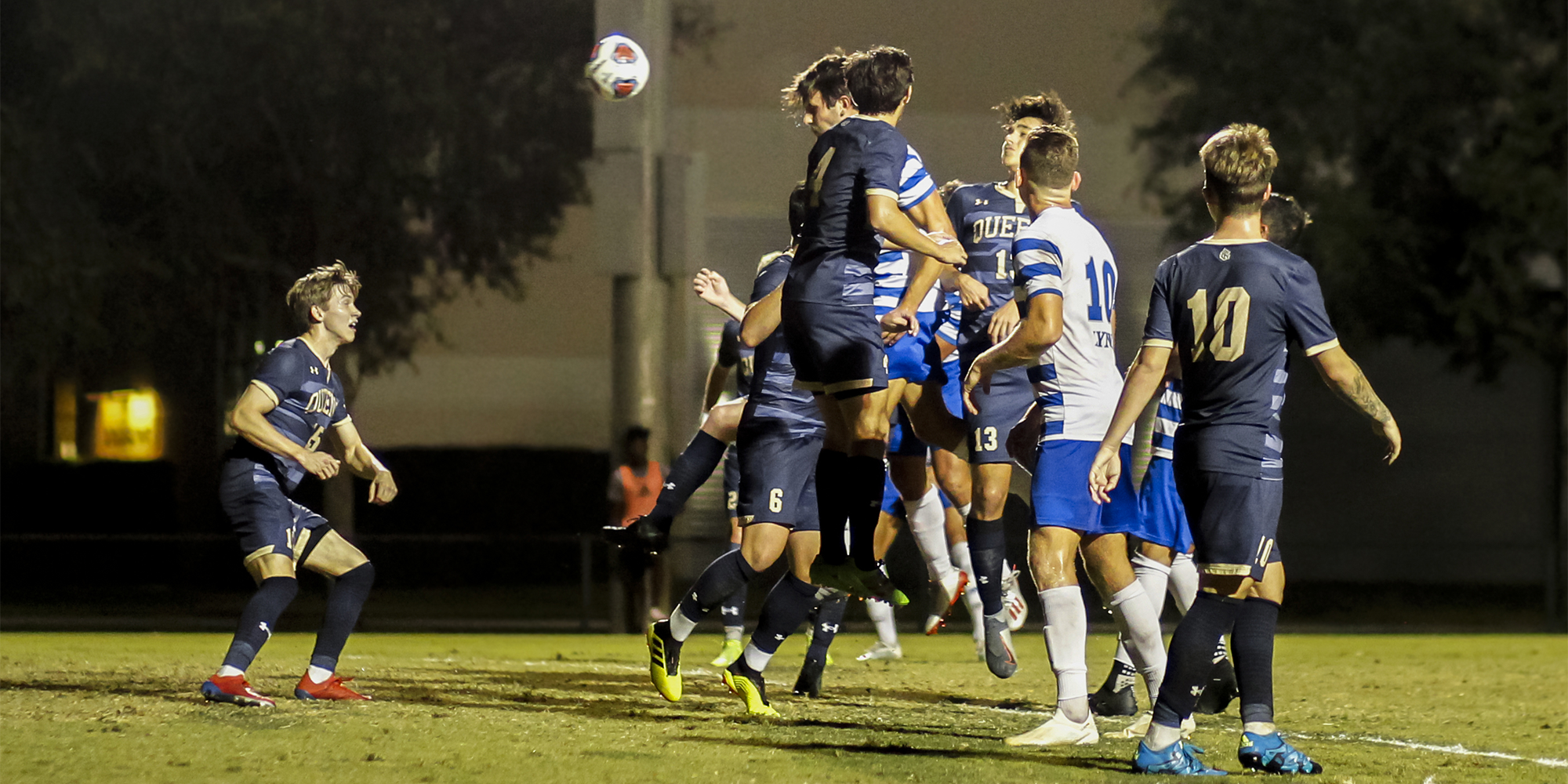 Sweet Victory! Men's Soccer Advances to Round of 16 with 1-0 Win over Queens